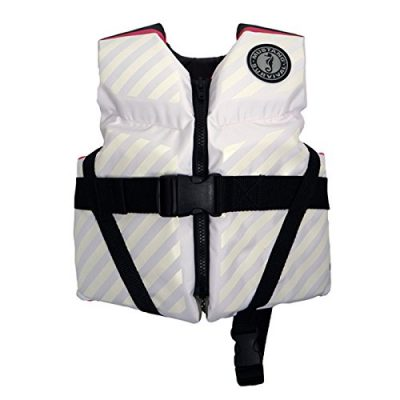 Mustang Survival Lil' Legends 70 Child Life Vest White/Pink
