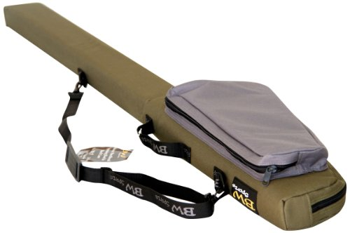 BW Sports RC-3105 Rod & Reel Case for 10.5 ft. 2-Piece Spinning Rods with 3-Inch Guides