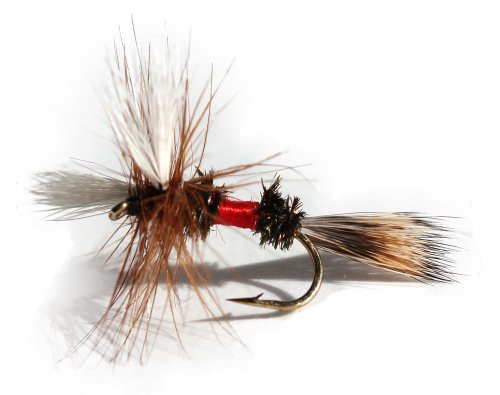Flies Direct Royal Wulff Assortment Trout Fishing Flies (1-Dozen)