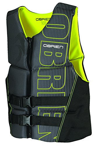 O'Brien Men's Flex V-Back Neoprene Life Vest, Yellow, XX-Large