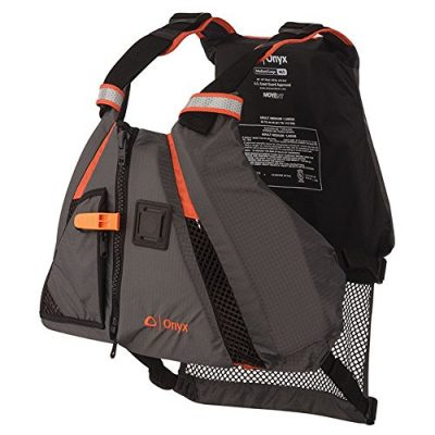 ONYX MoveVent Dynamic Paddle Sports Life Vest, Orange, X-Small/Small