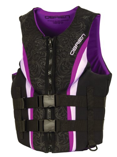 O'Brien Women's Impulse Neo Life Vest, Purple, X-Large