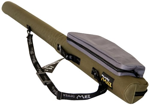 BW Sports Rod and Reel Case For 9 Ft. Spinning or Baitcasting Rod with 2.5 Inch Guides – RC-5070