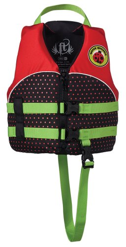 Full Throttle Child 'Water Buddies' Life Vest – Lady Bug