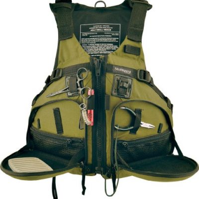 Stohlquist Fisherman Personal Floatation Device, Cactus, Large/X-Large