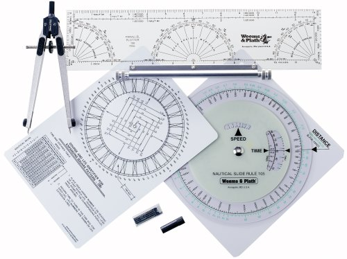 Weems & Plath Marine Navigation Coast Guard Navigation Tool Kit