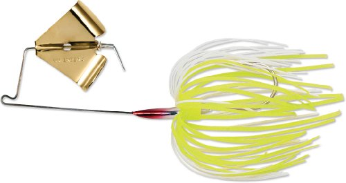 Terminator Super Stainless Buzzbait (Chartreuse White Shad, 3/8-Ounce)