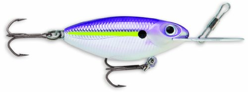 Storm Hot 'N Tot MadFlash 05 Fishing Lure, Chartreuse Purple Shad