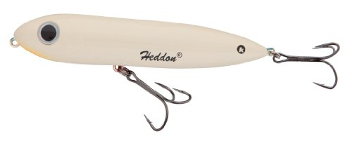 Heddon One Knocker Spook Lure (Bone/ Orange Belly, 4 1/2-Inch)