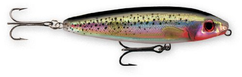 Rapala Skitter Walk 08 Fishing lure, Holographic Silver, 3.125-Inch