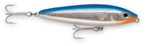 Rapala Saltwater Skitter Walk 11 Fishing lure, 4.375-Inch, Blue Mullet