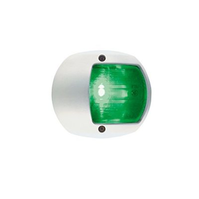 Perko 0170WSDDP1 12V Green Side Light, White