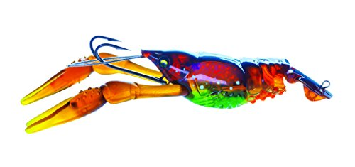 Yo-Zuri 3DB Crayfish Slow Sinking Lure, Prism Brown, 3-Inch
