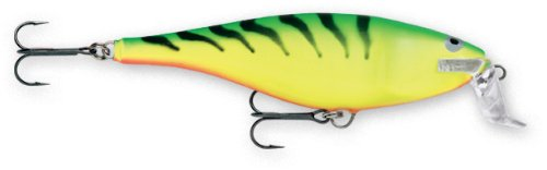Rapala Super Shad Rap 14 Fishing lure, 5.5-Inch, Firetiger