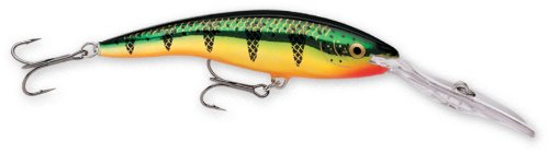 Rapala Deep Tail Dancer 11 Fishing lure, Flash Perch