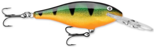 Rapala Shad Rap 08 Fishing lure, 3.125-Inch, Perch