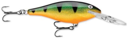 Rapala Shad Rap 08 Fishing lure, 3.125-Inch, Perch