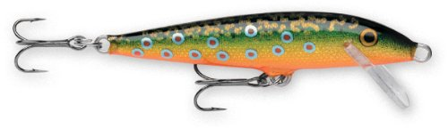 Rapala Original Floater 07 Fishing lure, 2.75-Inch, Brook Trout