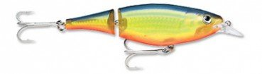 Rapala X-Rap Jointed Shad 13 Fishing Lure (Hot Steel)