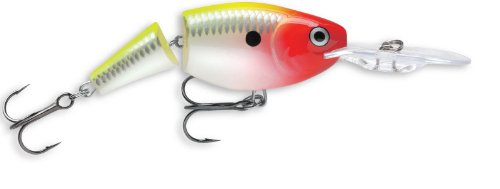 Rapala Jointed Shad Rap 04 Fishing lure, 1.5-Inch, Clown