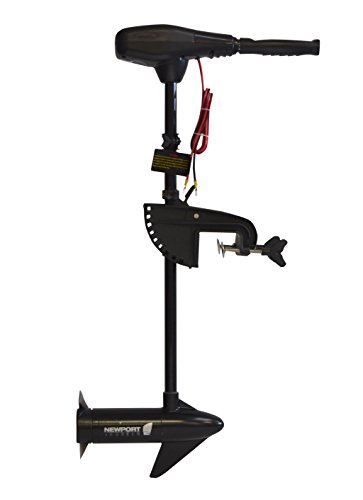 Newport Vessels NV-Series 36 lb. Thrust Saltwater Transom Mounted Electric Trolling Motor with 30″ Shaft