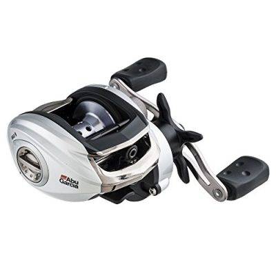 Abu Garcia SMAX3-L Silver Max Low Profile Fishing Reel