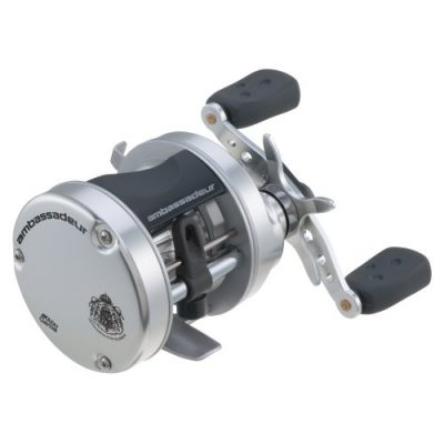 Abu Garcia 5501 Ambassadeur S Round Reel, Right, 230/14-Pound