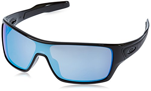 Oakley Turbine Rotor Prizm Sunglasses Turbine Rotor Polished Black W, One Size – Men's