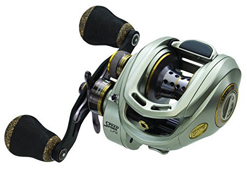 Lew's Fishing Team Lew's LS Spool Baitcast Reel, 5.7 oz./120 yd./12 lb./7.5:1, Right