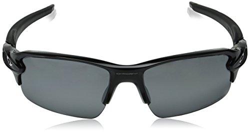 20b3876d63 Oakley Men s Flak 2.0 OO9295-07 Polarized Iridium Rectangular Sunglasses