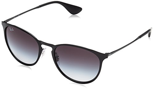 Ray-Ban METAL UNISEX SUNGLASS – BLACK Frame GRAY GRADIENT Lenses 54mm Non-Polarized