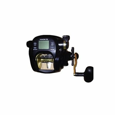 Daiwa TANACOM750 Dendoh Fishing Reel, 25-40 lb, Black