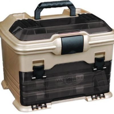 Flambeau Tackle T4 Multi-Loader Tackle Box (Gold/Black, 10.7×13.7×12-Inch)
