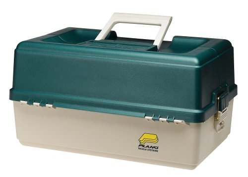 9606 Plano 6 Tray Tackle Box 76 Comp Green/Bge